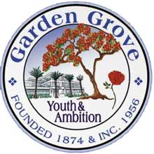 Image result for garden grove city seal